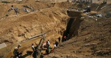 Israel começa a construir muro subterrâneo ao redor de Gaza