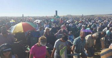 Mais de 1,7 milhão de evangélicos se reúnem para orar pela África do Sul