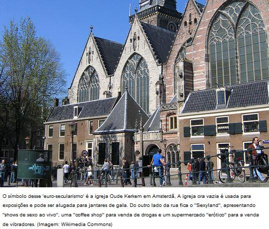 O Islamismo se Levanta a Partir do Secularismo da Europa