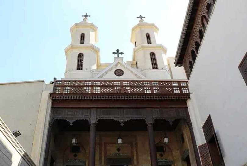 A Igreja Suspensa é uma das mais famosas Igrejas Ortodoxa Copta do Cairo. (Foto: Guiame/Marcos Paulo Corrêa)