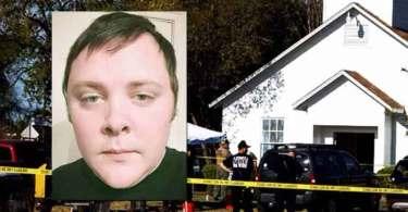 Ex-professor de estudos bíblicos abre fogo em igreja e deixa 26 mortos, nos EUA