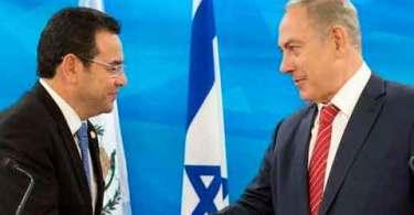 Depois de Trump, Guatemala é o primeiro país do mundo a reconhecer Jerusalém como capital de Israel