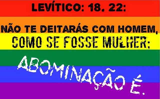 Levítico e homossexualismo