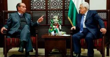 Líder da Palestina pede que Brasil boicote produtos de Israel