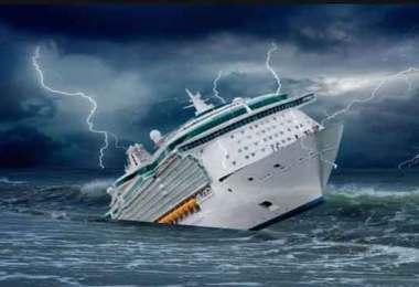 """O navio """"reformado"""" está afundando. O que fazer? Ficar até o fim e lançar acusações nos navios que não estão afundando?"""