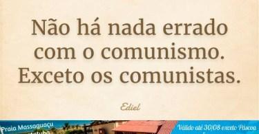 Não há nada de errado com o comunismo