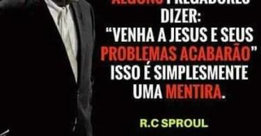 """""""Venha a Jesus e seus problemas acabarão."""""""