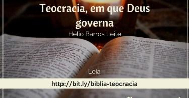 A Bíblia não é uma democracia.