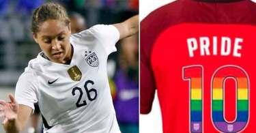 """Jogadora deixou seleção dos EUA, após time apoiar o 'orgulho gay': """"Obedeci a Deus"""""""