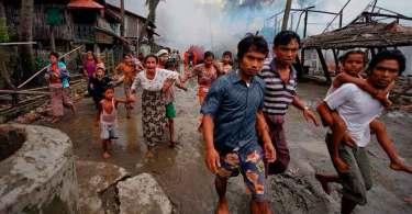 Genocídio de cristãos leva a milhares de mortos e estupro de mulheres grávidas, em Mianmar