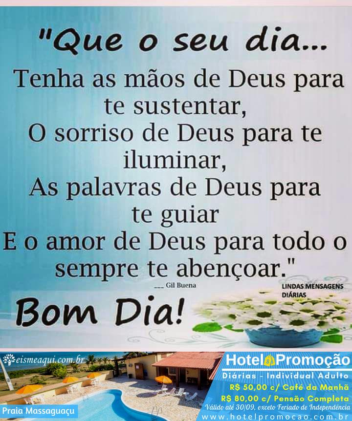 Que O Seu Dia Tenha O Amor De Deus Para Todo Sempre Te