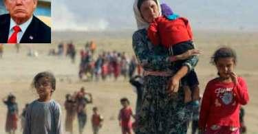 Evangélicos americanos criticam fortemente governo Trump por permitir a entrada nos EUA de apenas 21 refugiados cristãos do Oriente Médio em 2018