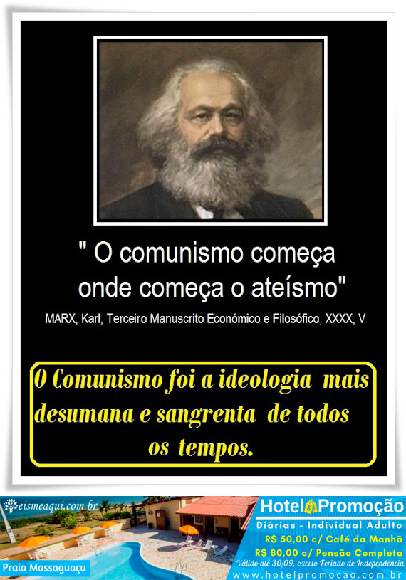 O comunismo foi a ideologia mais desumana e sangrenta de todos os tempos.