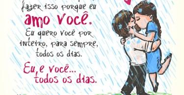 Eu e você... Todos os dias!