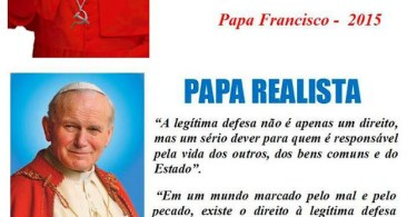 Papa comunista e realista