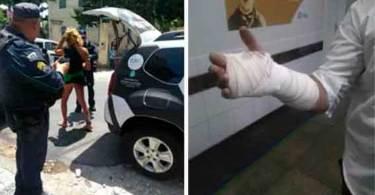 Igreja é atacada por militantes do PSOL, em Fortaleza