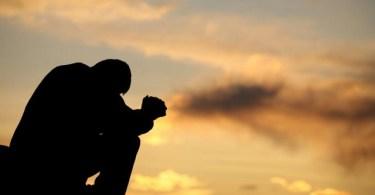 Desistência nas orações