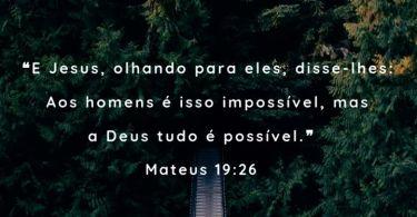 Mateus 19:26