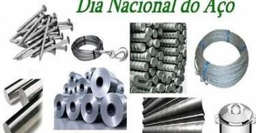 Dia Nacional do Aço!
