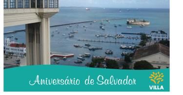 Aniversário de Salvador!