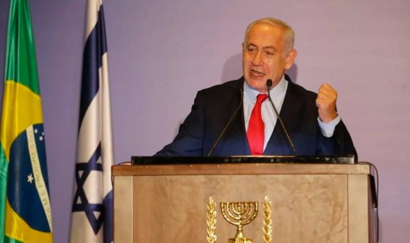 """""""Não temos melhores amigos no mundo do que a comunidade evangélica"""", diz Netanyahu"""