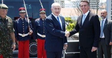 Bolsonaro tem encontro histórico com primeiro-ministro de Israel