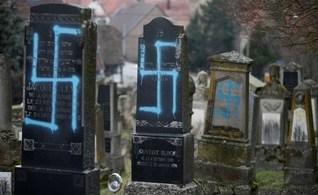 Túmulos judaicos são vandalizados com pichações de suásticas na França
