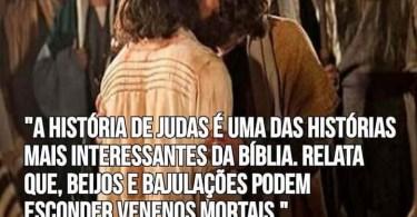 A história de Judas é uma das mais interessantes da Bíblia...