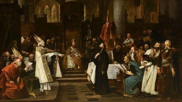 Nata da elite europeia marcou presença no julgamento de Jan Hus