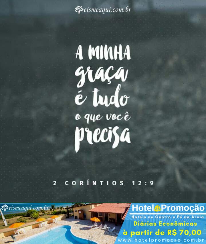 2 Corintios 12 9 Mensagens Cristas Eis Me Aqui