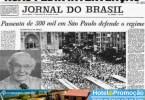 O povo brasileiro foi às ruas pedir intervenção!