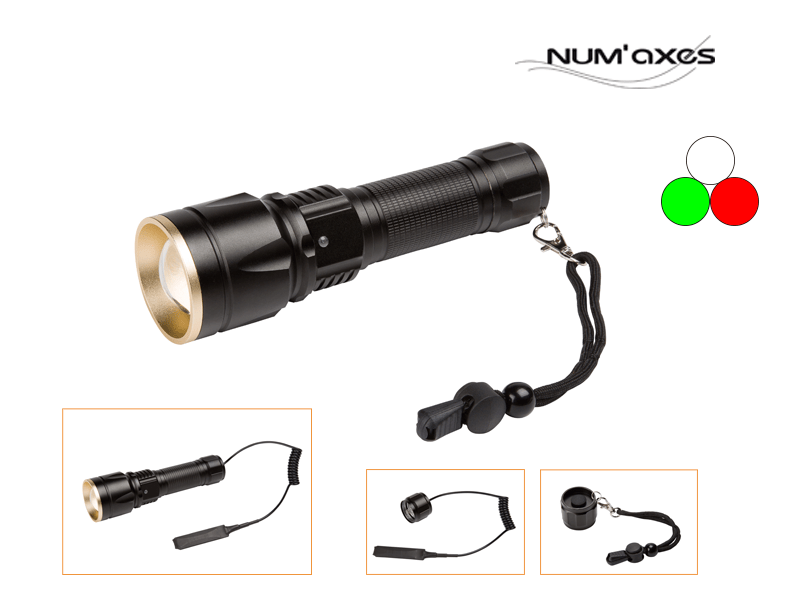 Linterna Led Num'Axes multicolor