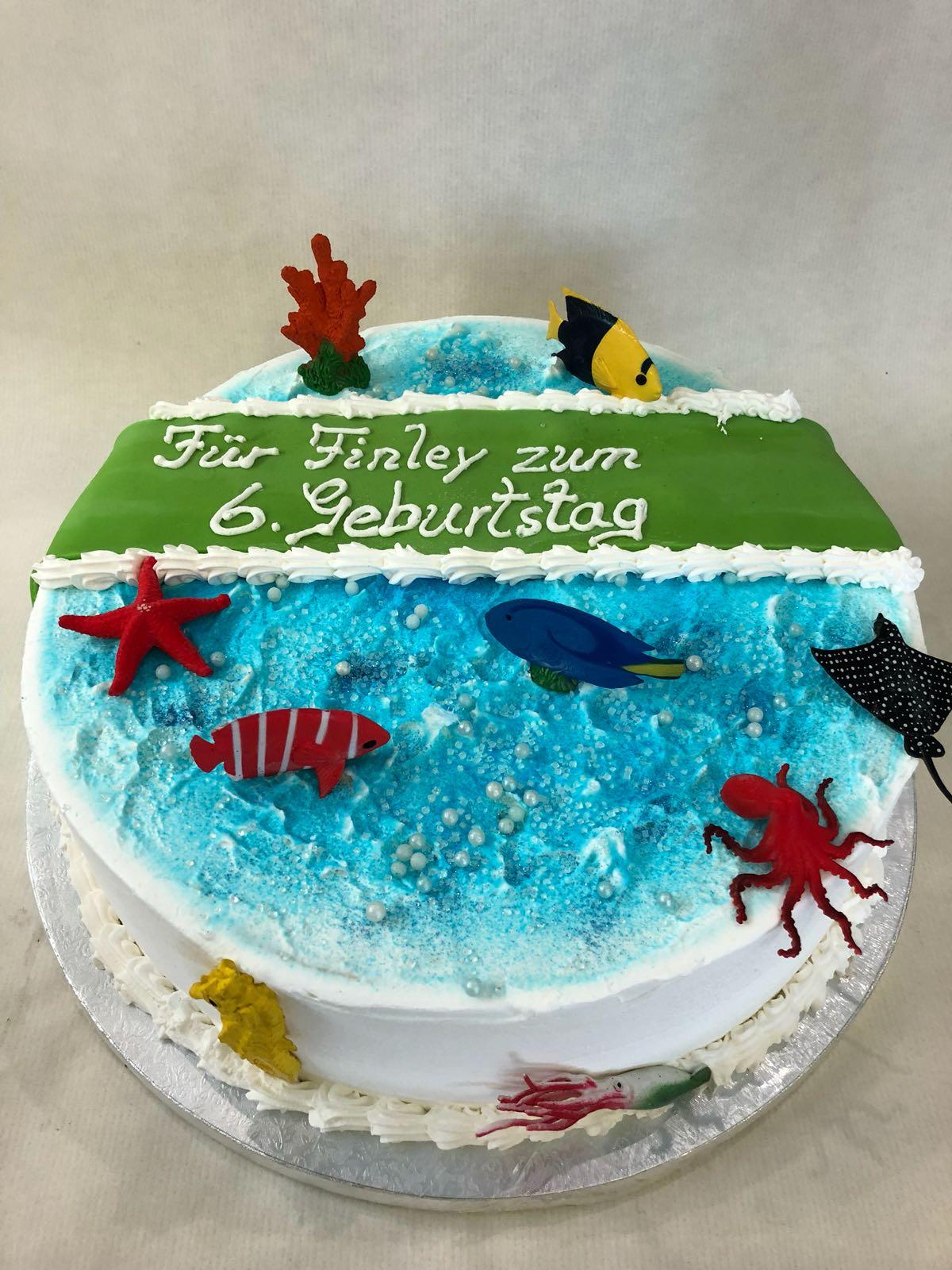 Alles gute zum Geburtstag  Eistorte  Eistorten Shop