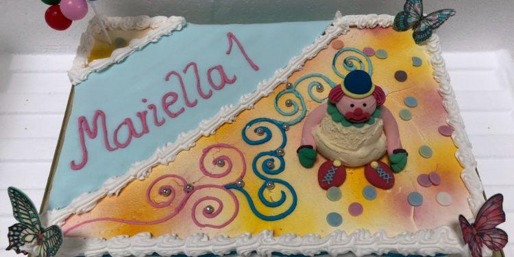 Geburtstagstorte zum 1 Lebensjahr  Eistorten Shop