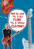 Flink på elgitar