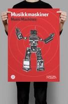 Music Machines poster mockup