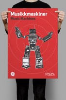 Music Machines poster mockup