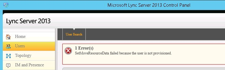 SetMoveResourceData failed because the user is not provisioned_01