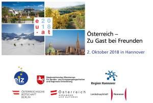 Österreich – Zu Gast bei Freunden