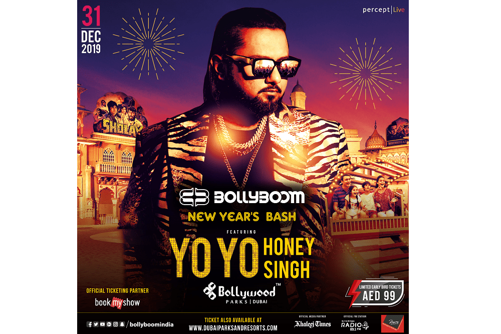 Bollyboom Makes Its Debut in Dubai with A Grand New Year's Bash Featuring Yo Yo Honey Singh!
