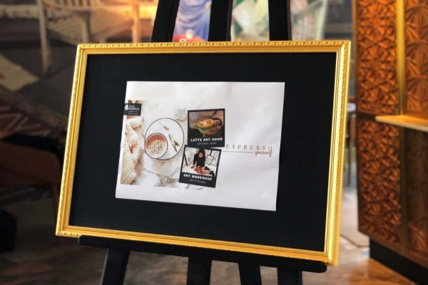 ESPRESSO YOURSELF WITH AN ART WORKSHOP ONLY