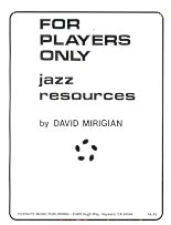 FOR PLAYERS ONLY: David Mirigian: