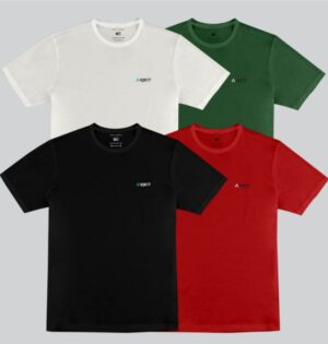 Kit Camiseta Masculina Casual