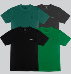 Kit Camiseta Masculina Colour