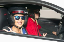 Myriam Arevalos, Miss Paraguay 2015, gets ready for a lab around the track with a professional driver at Exotics Racing on Wednesday December 9th. The 2015 Miss Universe contestants are touring, filming, rehearsing and preparing to compete for the DIC Crown in Las Vegas. Tune in to the FOX telecast at 7:00 PM ET live/PT tape-delayed on Sunday, Dec. 20, from Planet Hollywood Resort & Casino in Las Vegas to see who will become Miss Universe 2015. HO/The Miss Universe Organization