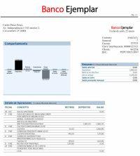 Plantilla Transferencia Bancaria Word Modelo Solicitud