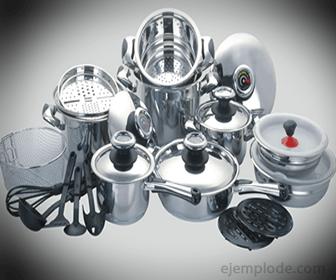 Bateria De Cocina Tefal Roja