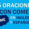 💎 25 Oraciones En Inglés Con Come 👉Frases Con Come ⚡
