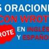 25 Oraciones Con Wrote En Inglés ✔ Frases Con Wrote ⚡