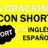 💎 25 Oraciones En Inglés Con Short 👉Frases Con Short⚡